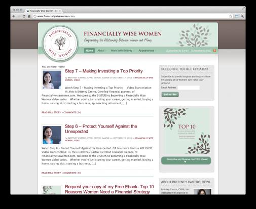 Financially Wise Women