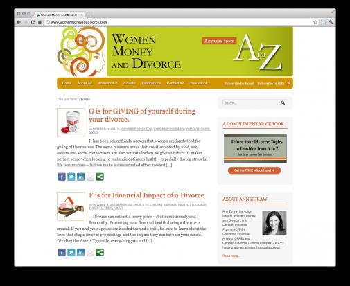 Women, Money and Divorce