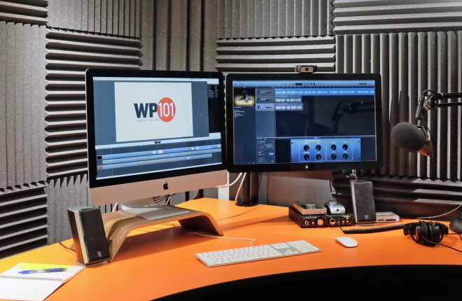 Shawn Hesketh's Screencasting Studio Setup