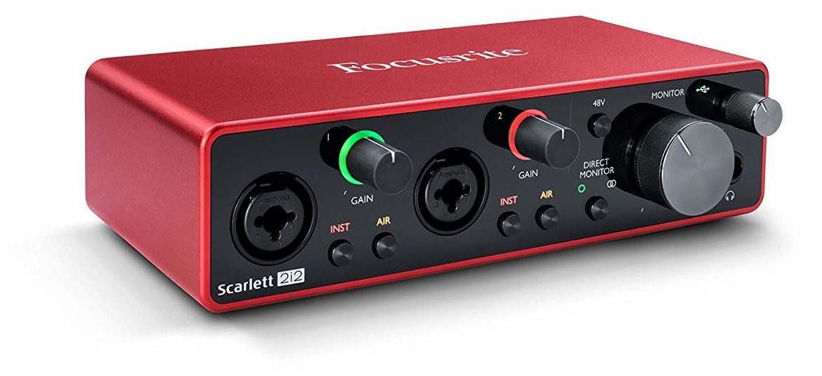 Scarlett 2i2 Audio Interface